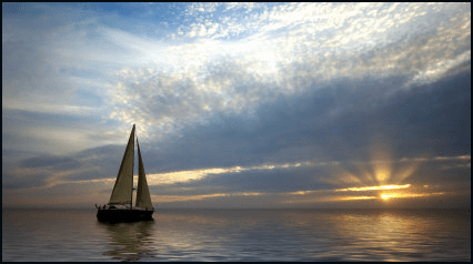 how to get money on a sail boat